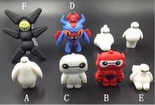 Baymax/Big hero Super Marines USB 2.0 flash pen drive 8g 16g 32g 64g Memory Stick Thumb/Pendrive key U Disk creative Gift S798(China)