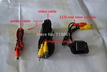 fit for toyota prius Car Camera,100% waterproof,reverse parking,CCD, wide angle,color camera,with guide line(China)