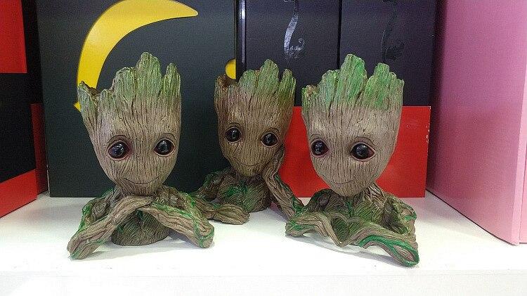 Garden Decorazione Bambino Groot Vaso da fiori giocattolo Marvel Action figure da GUARDIANI