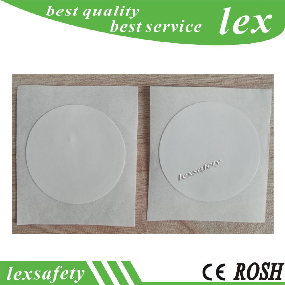 100 pieces a lot diameter 40mm 13.56mhz ntag216 low cost nfc programming hf rfid tags,programmable nfc rfid security tags(China)