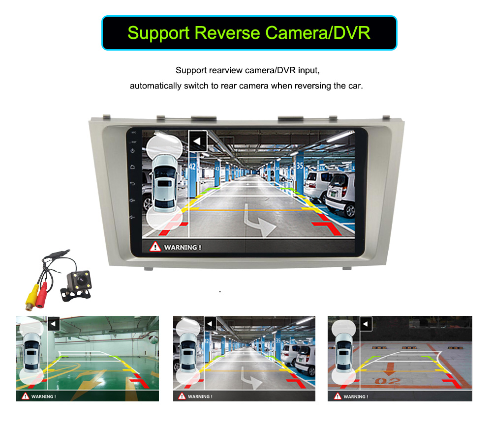 Silverstrong 1024600 2Din Android7.12 2 DVD Toyota Camry Aurion V40 2007-11 Google Play