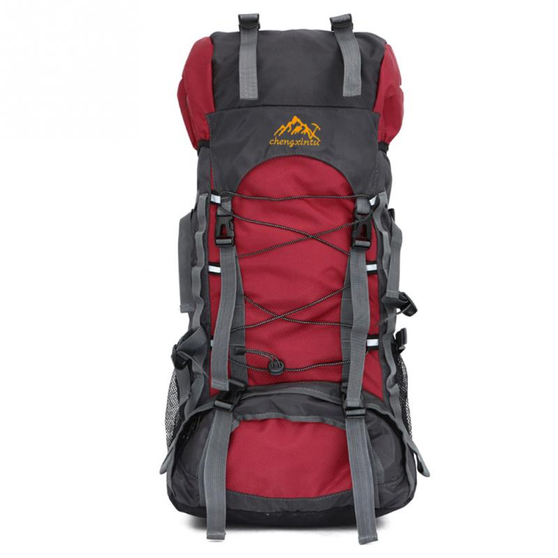 55L Fashion Backpack Trekking Bag Pack Knapsack New High Quality Nylon Adjustable Chest Belt Man Backpack<br><br>Aliexpress
