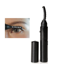 Hot Heated Eyelash Curler Double Sided 10s Pen Style Mini Portable Long Lasting Curled Lashes Makeup Tools & Accessories