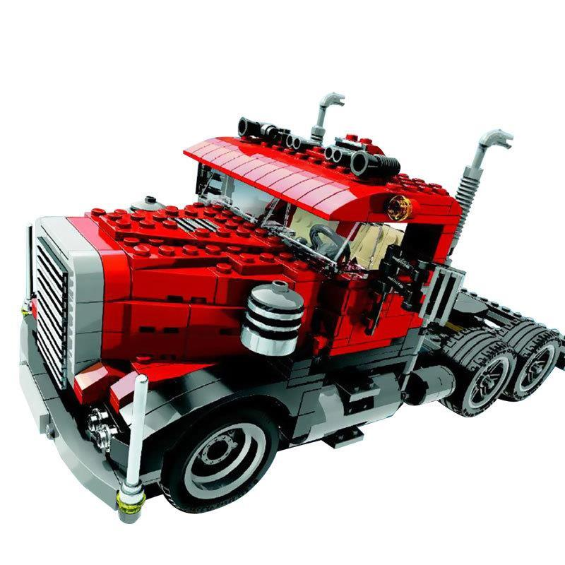 24023 792Pcs Technic Series Deformation 3IN1 Creative Truck Building Blocks Bricks For Children Toys 4955<br>