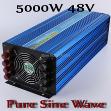 5000w 48v inverter,dc ac pure sine wave inverter 5000W,48V DC to AC100/110/120V or 220/230/240V Solar Wind Power Inverter 5000W