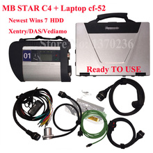 MB Star SD Connect C4 with HDD V2017.09 MB SD C4 Diagnostic Software Xentry/Vediamo for Laptop CF52 Diagnostic PC Read to Use(China)