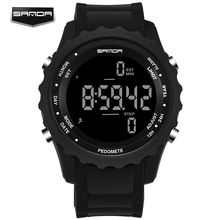 Fashion Watches Men Women Lover Outdoor Sports Watches LED Electronic Digital Watches Brand Waterproof Boy Watches Montre Homme