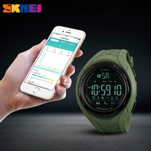 Buy SKMEI Bluetooth Smart Watch Apple IOS Android Pedometer Calories Outdoor Sports Watches Women Fashion Wristwatches Clock New for $19.99 in AliExpress store