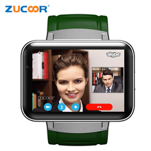 luxury Smart Watch Phone Touch Screen ZW68 Smartwatch Bluetooth Pedometer With 3G SIM Card Slot Support Video Call PK KW88 MF3