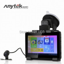 Dual Lens Car DVR Camera GD001 With HD 1080P  GPS Navigation Tablet PAD Android Car Dash Camera  Recorder