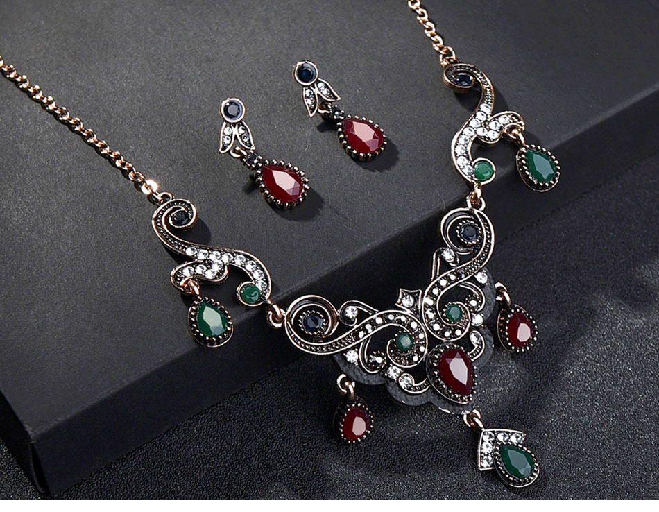Turkish-Vintage-Jewelry-Sets-Necklace-and-Earrings_03