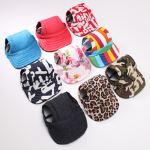Fashion Outdoor Baseball Style Dog/Cat Caps New Size Arrive Free Shipping Pet Hats(China)