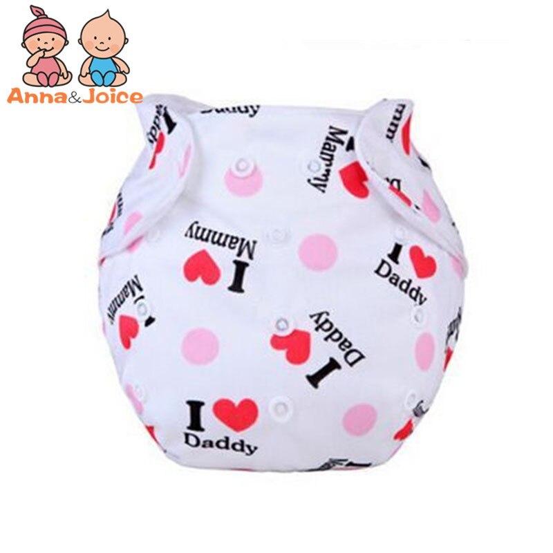 10pcs/Lot    Baby Diaper Washable learning pants  cotton training pant suit 6-15kg