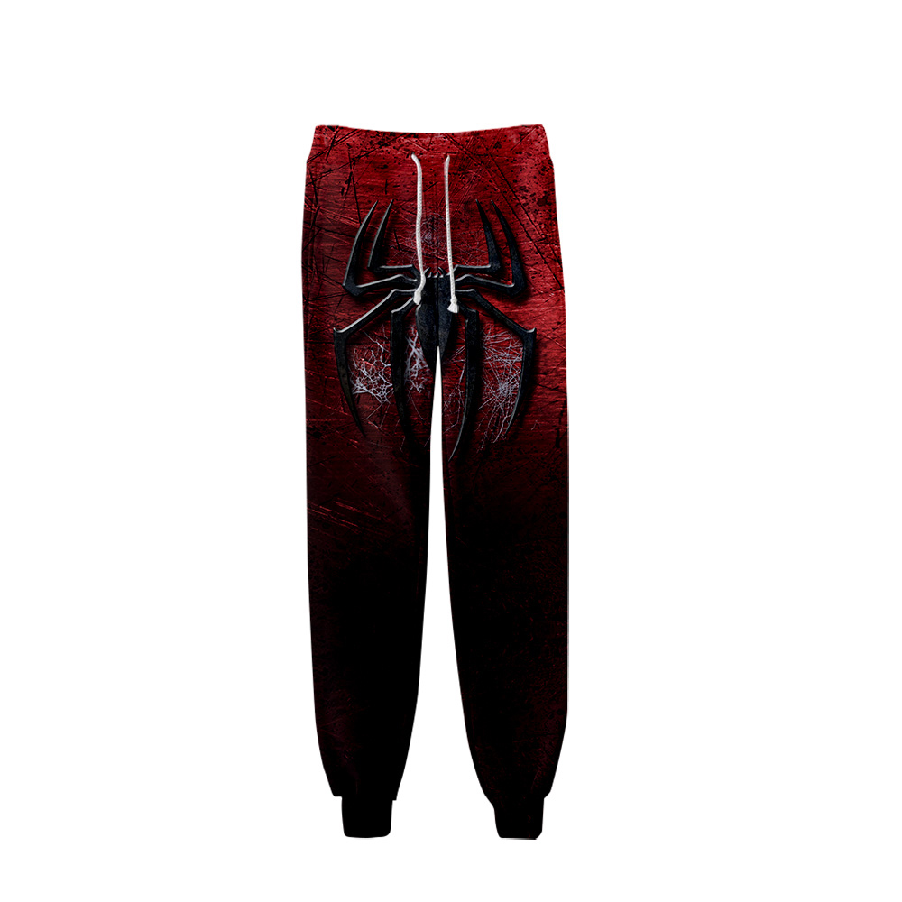 Spider man far from home men Hip Hop Pants Trousers Kpop Fashion Casual High Quality New Casual Warm Pants Slim Kpop Pants