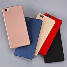 PC case For Huawei p8 p 8 / p8 lite p8lite phone case silicon luxury Hard PC cover for huawei p8 lite cases gold coque 3d