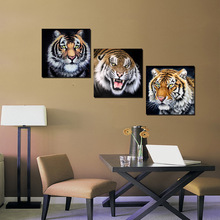 Wall Decor Home Decoration Handsome Tigers Head In Life As Gift  Wall Art Pictures HD Canvas Painting For Living Room