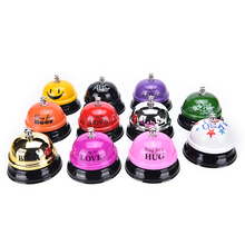 1Pc Desk Kitchen Hotel Counter Reception Restaurant Bar Ringer Call Bell Service For Wedding Gift Party Favor(China)