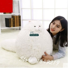 Dorimytrader Hot 20'' / 50cm Super Lovely Plush Funny Stuffed Giant Animal Persian Cat Toy Nice Baby Gift Free Shipping DY60114