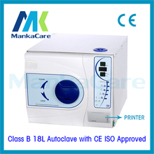 Big Discount 18L Dental Sterilizer Medical Surgical Autoclave Vacuum Steam Datal Printing(China)