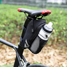 Buy ROSWHEEL Bike Bicycle Tail Bag Bicycle Cycling Saddle Bag Water Bottle Pocket MTB Bike Rear Seat Tube Bags Tail Seat Pouch for $9.41 in AliExpress store