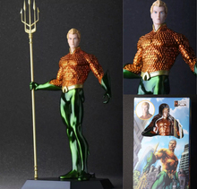 "Crazy Toys Aquaman Arthur Curry PVC Action Figure Collectible Model Toy 10"" 25cm KT054(China)"