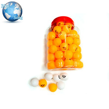 60Pcs High Quality 3-star level official table tennis balls ping pong balls Standard Training Balls(China)