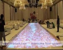 GOOD NEWS of best price !! DEFI copyright Interactive floor Projection system and 130 different  effects