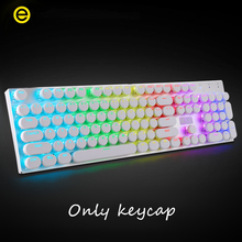 DIY Gamer gaming keyboard caps 104 standard key combination mechanical keyboard keycap For Logitech Razer Steelseries Keyboard