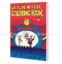 A Fun Magic Coloring Book - Large size - Magic tricks,Mentalism,Satge Magic props,Card,Magic Accessories,Gimmicks,Close-up