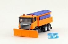Brand New Siku 1/87 Scale Sweden Scania Winterdienst Winter Service Truck Diecast Metal Car Model Toy For Gift/Kids/Collection