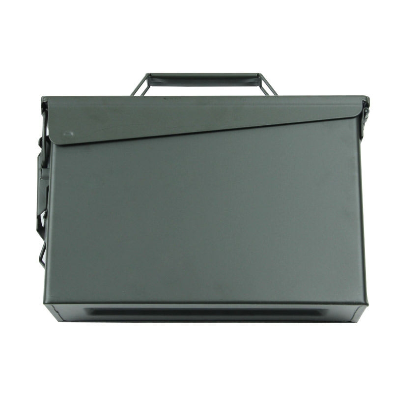 30 Cal Metal Ammo Can Military & Army Style Steel Box Gun Ammo Case Storage Holder Box Heavy duty Tactical Bullet box (7)