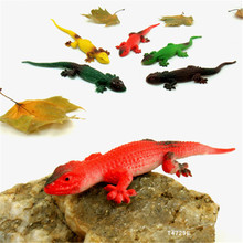 Funny novelty items Simulation spoofing gecko prank supplies jake toy lizard gag gifts kids toys 5 pcs(China)
