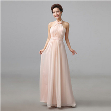 vestido chifon fashion ladies elegant cheap evening dress 2017 pink women formal brides mother dresses for weddings W1511