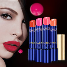 18 Colors Beauty Makeup Waterproof Lipstick Long Lasting Not Fade Lip Gloss Easy To Wear(China)