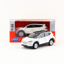 Free Shipping/Welly /Hyundai Tucson SUV/Educational Model/Pull back Diecast Metal toy car/Gift/For collection