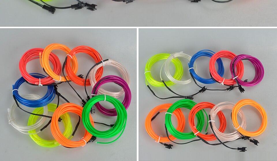 1m 2m 3m 4m 5m Neon Light EL Wire  (14)