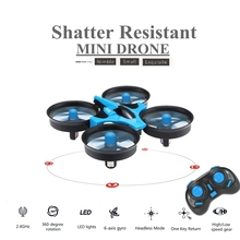 Mini Quadcopter 6-axis Rc Helicopter Blade Inductrix Quadrocopter Flying Drone Drons Toys JJRC H36 Best Toy Gifts(China)