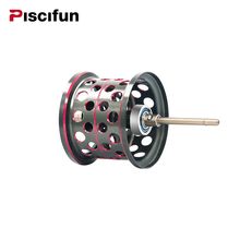 Piscifun Elite Baitcasting Reel Aluminum Lightweight Spool Magnetic Brake Dual Baitcasting Reel Spare Parts Replacement Fishing(China)