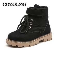 COZULMA Child Mid-Calf Tactical Boot Girls Sport Shoes Children High Shoes Boys Desert Boots Kids Gilrs Martin Boots(China)