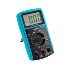 all-sun LCD Digital Multimeter DC/AC Voltmeter Continuity Battery Diode Tester EM382B ship from Russia warehouse(China)