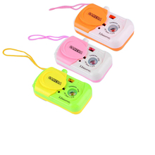 Color Random Camera Toy Projection Simulation Kids Digital Camera Toy Take Photo Children Educational Plastic Gift For Baby Toys(China)