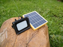 shenzhen solar factory IP 65 level flood light for lawn roof free shipping