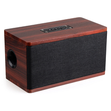 Hifi Speaker Wood Wireless Bluetooth 4.2 Speaker Portable Computer Speakers 3D Loudspeakers for TV Home Theatre Sound Bar AUX(China)