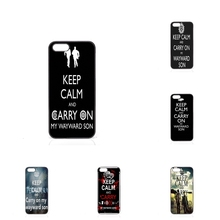 For Samsung Galaxy S2 S3 S4 S5 S6 S7 edge mini Active Ace Ace2 Ace3 Ace4 keep calm carry on my wayward son Cover