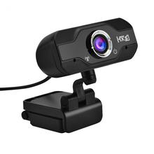 HXSJ S50 HD 720P 1 Mega Pixels USB Computer Camera Webcam Built-in Sound-absorbing Microphone for Laptops and Desktops