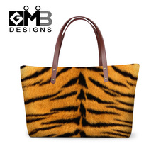 Dispalang 3D animal tiger snake skin handbags women travel handbag ladies evening party office totes bags top quality wholesale