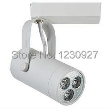 High power aluminum 3W  85-265V led tracking lamp use for the gallery ,clothing shop and the museum Mounted LED track lighting