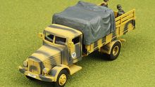 1:72 4500A Buxinnage German military truck alloy model products 85061