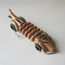 Hot Loose New Wheels Mutant Machines Diecast 1:55 Brown Chariot Toy Car Best Gift for Child