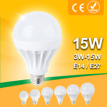 Buy Lampada LED E27 E14 LED Lamp 110v 220v Ball Bulb LED Light bulb 3W 5W 7W 9W 12W 15W Lampara Bombilla Ampoule spotlight SMD 5730 for $1.11 in AliExpress store